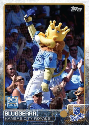 2015 Kansas City Royals Spring Training set - Slugerrr