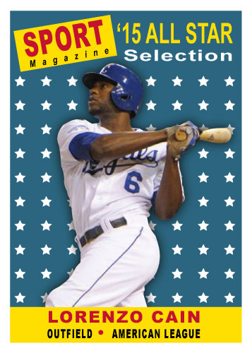 2015 All-Star Lorenzo Cain custom card