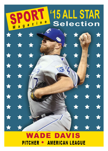 2015 All-Star Wade Davis custom card
