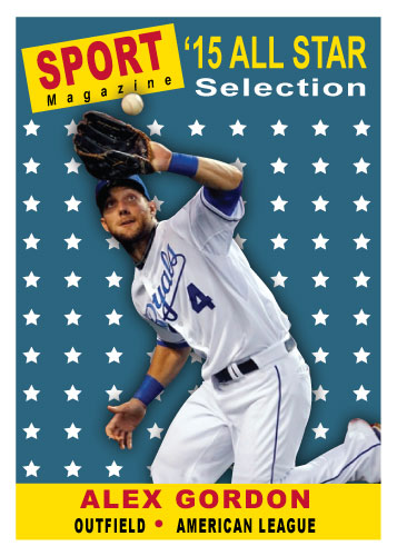 2015 All-Star Alex Gordon custom card