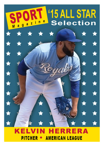 2015 All-Star Kelvin Herrera custom card