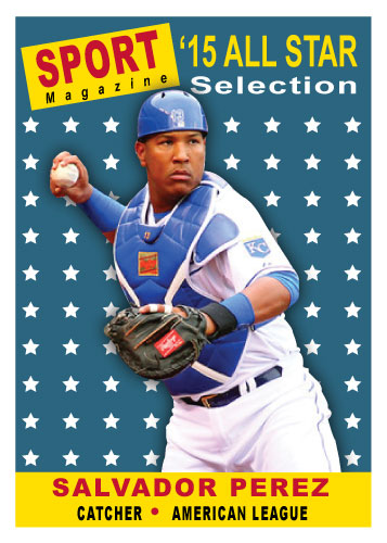 Salvador Perez 2015 All-Star custom card
