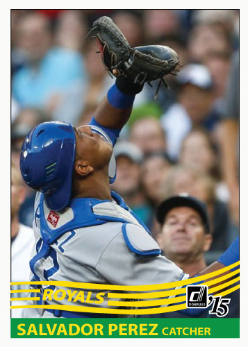 Salvador Perez 2015 custom card