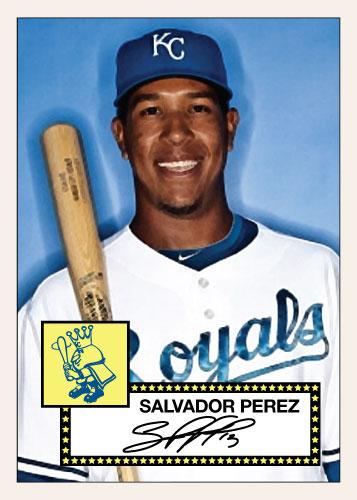 Salvador Perez 1952 Topps