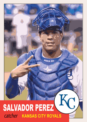 History of Salvador Perez: 1953 Topps