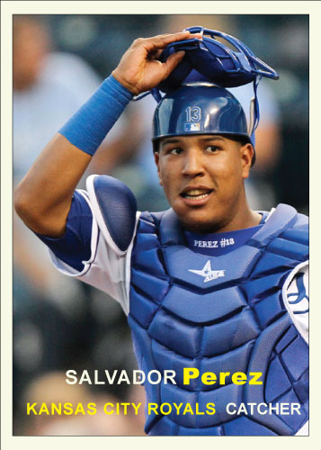 History of Salvador Perez: 1957 Topps