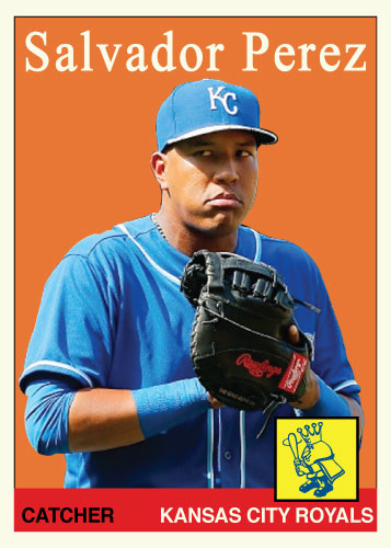 History of Salvador Perez: 1958 Topps
