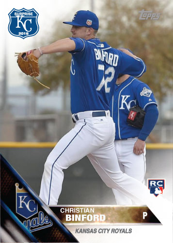 2016 Royals Spring Training: Christian Binford