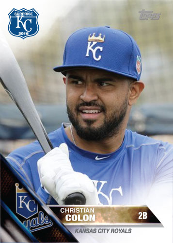 2016 Royals Spring Training: Christian Colon