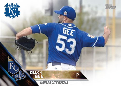 2016 Royals Spring Training: Dillon Gee