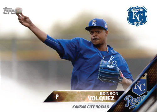 2016 Royals Spring Training: Edinson Volquez