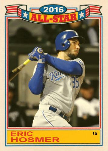 Eric Hosmer 2016 All-Star Royals custom card
