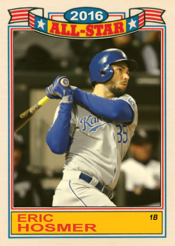 Eric Hosmer 2016 All-Star Royals custom card