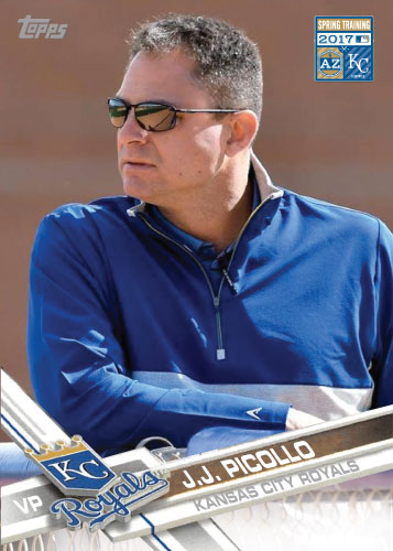 J.J. Picollo 2017 Royals Spring Training custom card