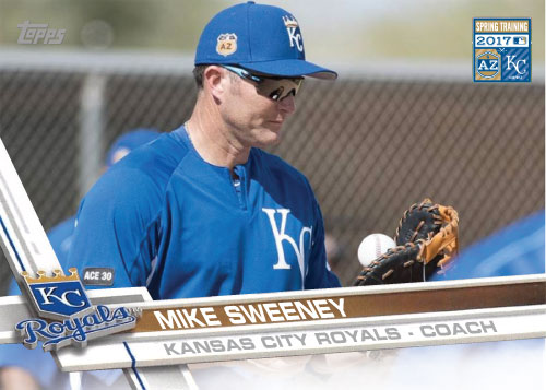 Mike Sweeney 2017 Royals Spring Training custom card